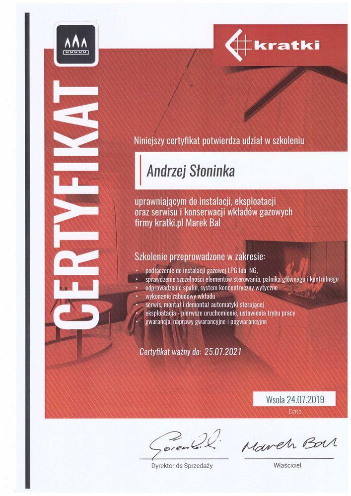 certyfikat-gaz