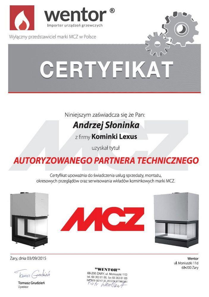 certyfikatMCZ